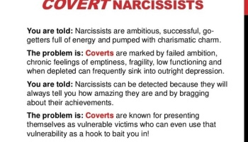 What are Some Signs a Codependent is also Covert Narcissist Answered